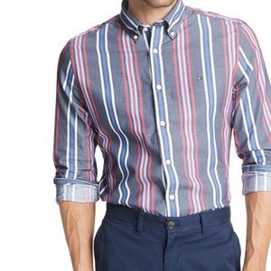 Striped Stretch Shir
